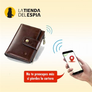 Cartera antirrobo Bluetooth