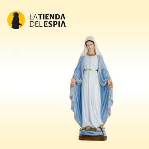 Figura de la virgen grabadora de video y audio