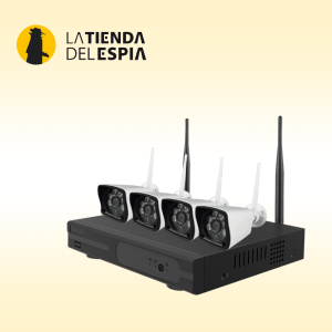 Kit de 4 cámaras wifi